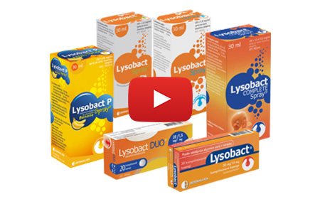 Pogledajte TV spot za Lysobact proizvode