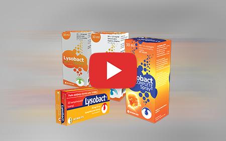 Shikoni spotin e ri TV për Lysobact Spray®