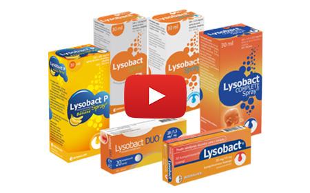 Pogledajte TV reklamu za proizvode Lysobact®